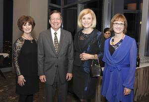 Photo - Barbara Brou, Larry Nichols, Judy Love, Sherry Rhodes. PHOTOs BY DAVID FAYTINGER, FOR THE OKLAHOMAN