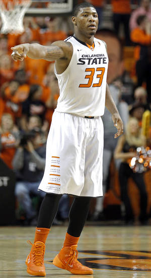 Photo - Marcus Smart's suspension was a turning point for his, and OSU's, season.                    Photo by Sarah Phipps,