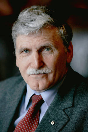 Photo - Canadian Sen. Romeo Dallaire, a retired lieutenant general in the Canadian Army, will be honored with the 2014 Reflections of Hope Award in Oklahoma City. Photo provided <strong>Photo Provided</strong>