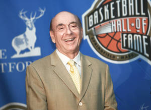 Photo - ESPN's college basketball voice, Dick Vitale, will call Saturday's OU-Texas game. Photo by Caleb Groom, ESPN