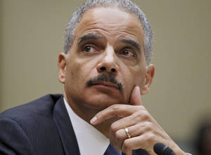 Photo - U.S. Attorney General  Eric Holder Holder was found in  contempt in the investigation of the Fast and  Furious gun operation.