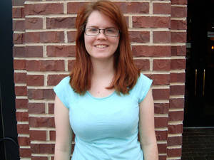 photo - Anna Langthorn, a University of Central Oklahoma student, was a delegate to Democratic National Convention. Photo by Steve Gust, for The Oklahoman <strong>Steve Gust</strong>