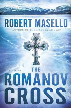 "Photo - This book cover image released by Bantam shows ""The Romanov Cross,"" by Robert Masello. (AP Photo/Bantam)"