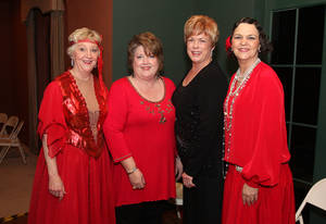 Photo - Polly Worthington, Donna Smith, Rhonda White, Sharon High- tower. PHOTO BY DAVID FAYTINGER, FOR THE OKLAHOMAN