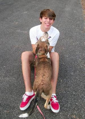 Photo - hristian Adamek, 15, died two days after he hanged himself on Oct. 2. Facebook photo