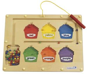 Photo - This undated photo provided by the U.S. Consumer Product Safety Commission shows a magnetic color sorting board from Discount School Supply.  The item is being recalled due to magnet ingestion risk and excessive lead levels. (AP Photo/U.S. Consumer Product Safety Commission)