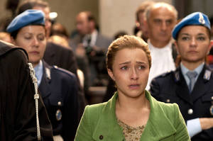 "Photo - Hayden Panettiere stars in the Lifetime Original Movie ""Amanda Knox: Murder on Trial in Italy."" LIFETIME PHOTOS"