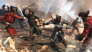"Photo - This video game image released by Ubisoft shows a scene from ""Assassin's Creed IV: Black Flag."" (AP Photo/Ubisoft)"