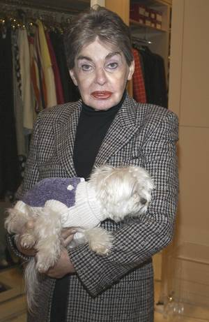 Photo - Leona Helmsley left her white Maltese, Trouble, a $12 million trust fund.AP PHOTO