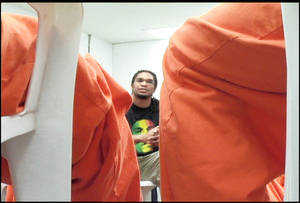 photo - Etan Thomas has talked to school children, at political rallies and at prisons. PHOTO PROVIDED