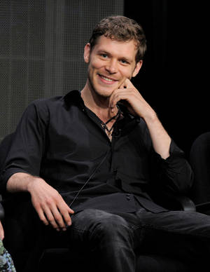 "Photo - This July 30, 2013 file photo shows actor Joseph Morgan at the ""The Originals"" panel at the CW Summer TCA  in Beverly Hills, Calif.  The series, a spinoff of ""Vampire Diaries,"" premieres Thursday, Oct. 3, at 9 p.m. on The CW. (Photo by Chris Pizzello/Invision/AP)"