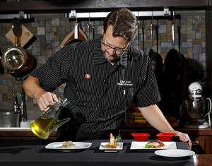 Photo - Chef Kurt Fleischfresser's Culinaire For A Cause will feature 100 original courses served continuosly over 14 hours. <strong>Jim Beckel - THE OKLAHOMAN</strong>