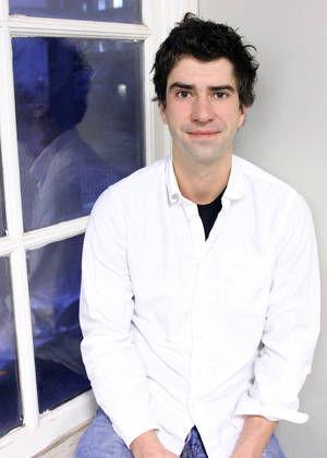 "Photo - This Dec. 18, 2012 photo released by Spin Cycle shows actor and playwright Hamish Linklater.  Linklater's latest play is called ""The Vandal."" (AP Photo/Spin Cycle, Crystal Arnette)"