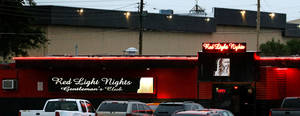 Photo -  Red Light Nights Gentlemen's Club is in south Oklahoma City. Photo by Bryan Terry, The Oklahoman  <strong>BRYAN TERRY -   </strong>