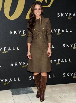 "Photo - Bérénice Marlohe at a photo call for the new film ""Skyfall"" in New York. AP PHOTO"