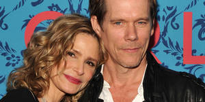 "NEW YORK, NY - APRIL 04:  Actors Kyra Sedgwick and Kevin Bacon attend the HBO with The Cinema Society host the New York premiere of HBO's ""Girls"" at the School of Visual Arts Theater on April 4, 2012 in New York City.  (Photo by Stephen Lovekin/Getty Images)"