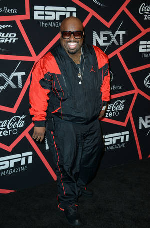 "Photo - Cee Lo Green arrives at ESPN The Magazine's ""Next"" Event on Friday, Feb. 1, 2013 in New Orleans. (Photo by Jordan Strauss/Invision/AP)"