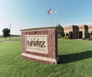 photo - The outside of the Lopez Foods plant is shown in Oklahoma City. PHOTO PROVIDED