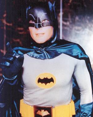 Photo - Adam West as Batman.