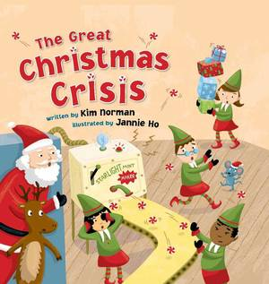 "Photo - ""The Great Christmas Crisis"" written by Kim Norman and illustrated by Jannie Ho."