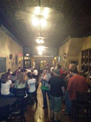 Kenney's Irish Pub in Guthrie is a lively venue that opened about four months ago. PHOTO PROVIDED. <strong></strong>