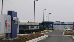 Photo -  The entrance of the new Mars Inc. production facility near Topeka, Kan. It's the company's first new North American production facility in 35 years. AP Photo  <strong>Orlin Wagner -  AP </strong>