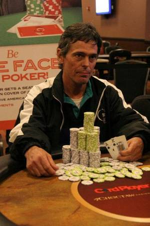 photo - Kirk Stewart, main Event winner (courtesy Card Player). <strong></strong>
