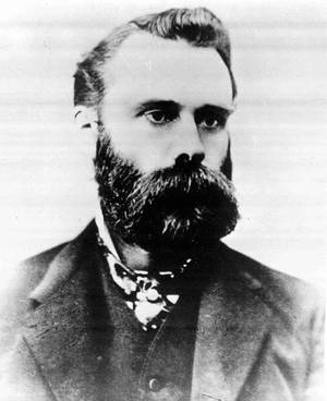 Photo - FILE - This undated file photo shows Wall Street Journal editor Charles Dow. In the late 19th century, following a number of bubbles and busts, most investors considered the stock market a dangerous place. Dow created his index, in part, to make the market easier to understand. On Thursday, July 3, 2014, the Dow jumped above 17,000 for the first time in its 118-year history. (AP Photo/File)  (AP Photo/File)