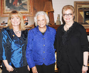 photo - Cathy Christensen, Sandra Day O'Connor, Yvonne Kauger. PHOTO PROVIDED