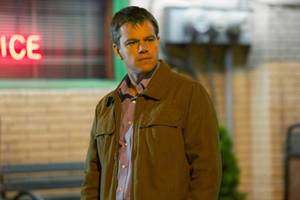 "Photo - Matt Damon in a scene from ""Promised Land."" FOCUS FEATURES PHOTO <strong></strong>"