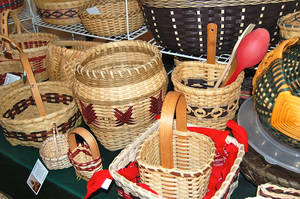 Photo - Baskets by Pauline Asbury.