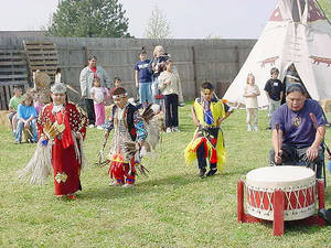 Photo - American Indian dancing is one of several art forms represented at Living History Days in Kingfisher, scheduled this year for Friday and Saturday. PHOTOS PROVIDED