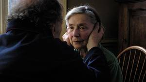 "Photo - From left, Jean-Louis Trintignant and Emmanuelle Riva star in ""Amour."" Sony Pictures Classics photo <strong></strong>"