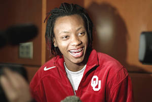 Photo - Nyeshia Stevenson OU senior guard