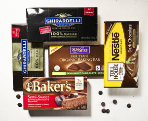 "Photo - Choosing chocolate these days can lead to confusion with labels making many claims from cocao percentage to things like ""artisan"" and ""single source."" But the label can't tell you how good the chocolate is. (Bill Hogan/Chicago Tribune/MCT)"