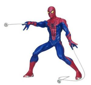 Photo - Shooting Spider-Man has two web shooters for double web-blasting action. $28.88 at Walmart. <strong></strong>