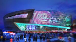 Photo - This artist's rendering provided by MGM Resorts shows the proposed sports arena in Las Vegas. Officials are set to break ground Thursday, May 1, 2014, on this new, 20,000-seat arena along the Las Vegas Strip that would improve the city's chances of attracting professional sports teams. Casino company MGM Resorts International and sports and entertainment giant AEG are marking the occasion with a ceremony. (AP Photo/MGM Resorts)