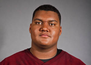 photo - Shaun Edwards, Destiny Christian lineman. Photo by Zach Gray, The Oklahoman