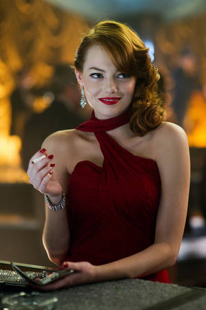 """Photo - Emma Stone stars in """"Gangster Squad."""" <strong>Wilson Webb</strong>"""
