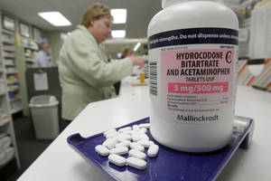Photo - Hydrocodone pills, also known as Vicodin, are shown at a pharmacy in Montpelier, Vt. (AP) <strong>Toby Talbot</strong>