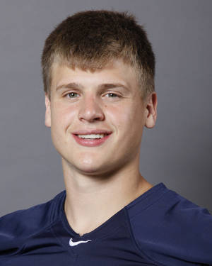 photo - Jackson Stallings, Southmoore, poses for a mug shot at The Oklahoman's photo day for spring high school football in Oklahoma City, Wednesday, May 16, 2012. Photo by Nate Billings, The Oklahoman
