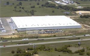 photo - Dollar Tree's distribution center in Marietta, which will be expanded to 1 million square feet.  PHOTO PROVIDED