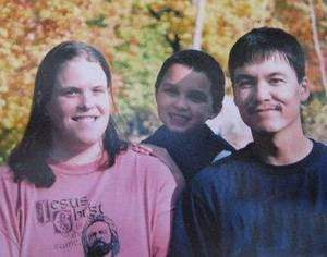 Photo - From left, Jenny Kato, Joshua Kato  and Roy Kato. <strong></strong>