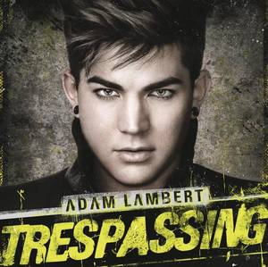 "Photo -   In this CD cover image released by RCA, the latest release by Adam Lambert ""Trespassing,"" is shown. (AP Photo/RCA)"