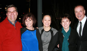Photo - David Gill, Linda Neimann, Dr. Titi Nguyen, Mary Blankenship Pointer, Dr. Paul Sechrist. PHOTO PROVIDED <strong>Picasa</strong>