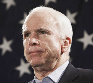 Photo - John McCain The Republican carried the state in 2008 but lost to Barack Obama.