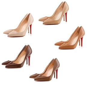 Photo - Christian Louboutin has a line of nude pumps in several shades of beige to match most women's nude. Photo provided. <strong></strong>