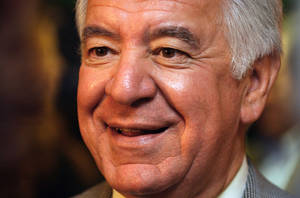 photo -   FILE - This NOV 2, 2012 file photo shows Rep. Nick Rahall, D-W.Va., during an interview at the Democratic headquarters in Beckley, W.Va., on Nov. 2, 2010. Rahall is being challenged by Republican state House of Delegates member Rick Snuffer. (AP Photo/Jon C. Hancock, File)