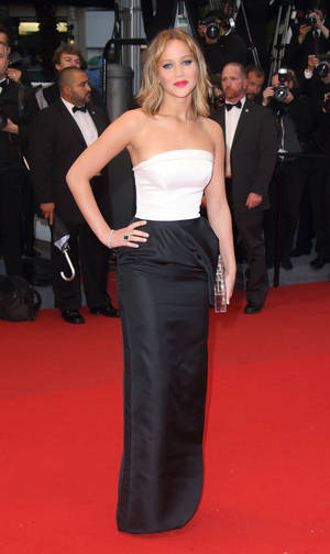 Photo - CANNES, FRANCE - MAY 18:  Jennifer Lawrence attends the Premiere of 'Jimmy P. (Psychotherapy Of A Plains Indian)' at The 66th Annual Cannes Film Festival on May 18, 2013 in Cannes, France.  (Photo by Mike Marsland/WireImage)