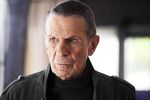 "Photo - Leonard Nimoy will make his last appearance as an actor in Thursday's season finale of ""Fringe"" on Fox. Fox Photo"